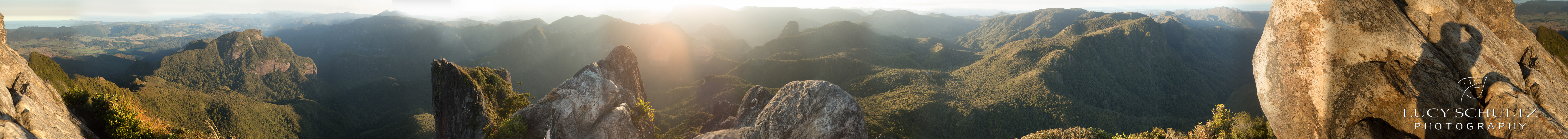 360 Degree view from the top of the pinnacles