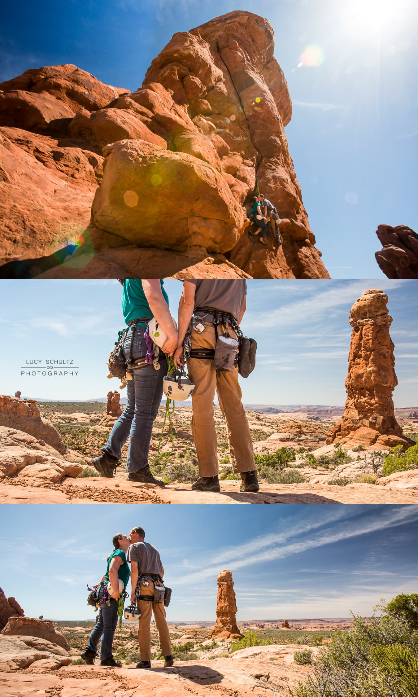 UtahClimbingAdventureEngagementPhotographer