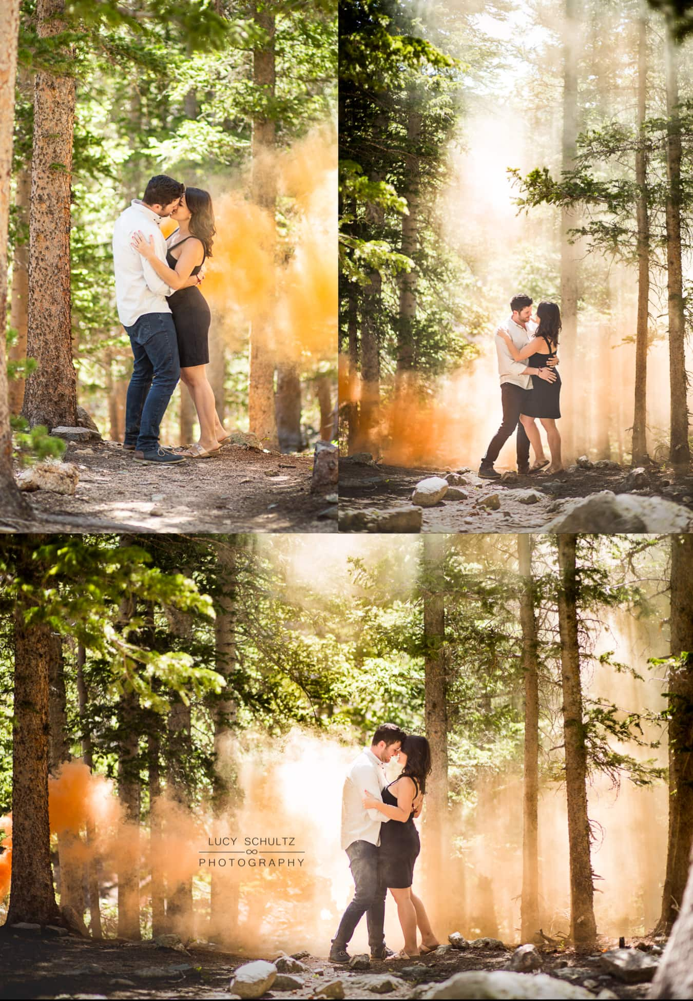 SmokeBombEngagementPhotographerColorado