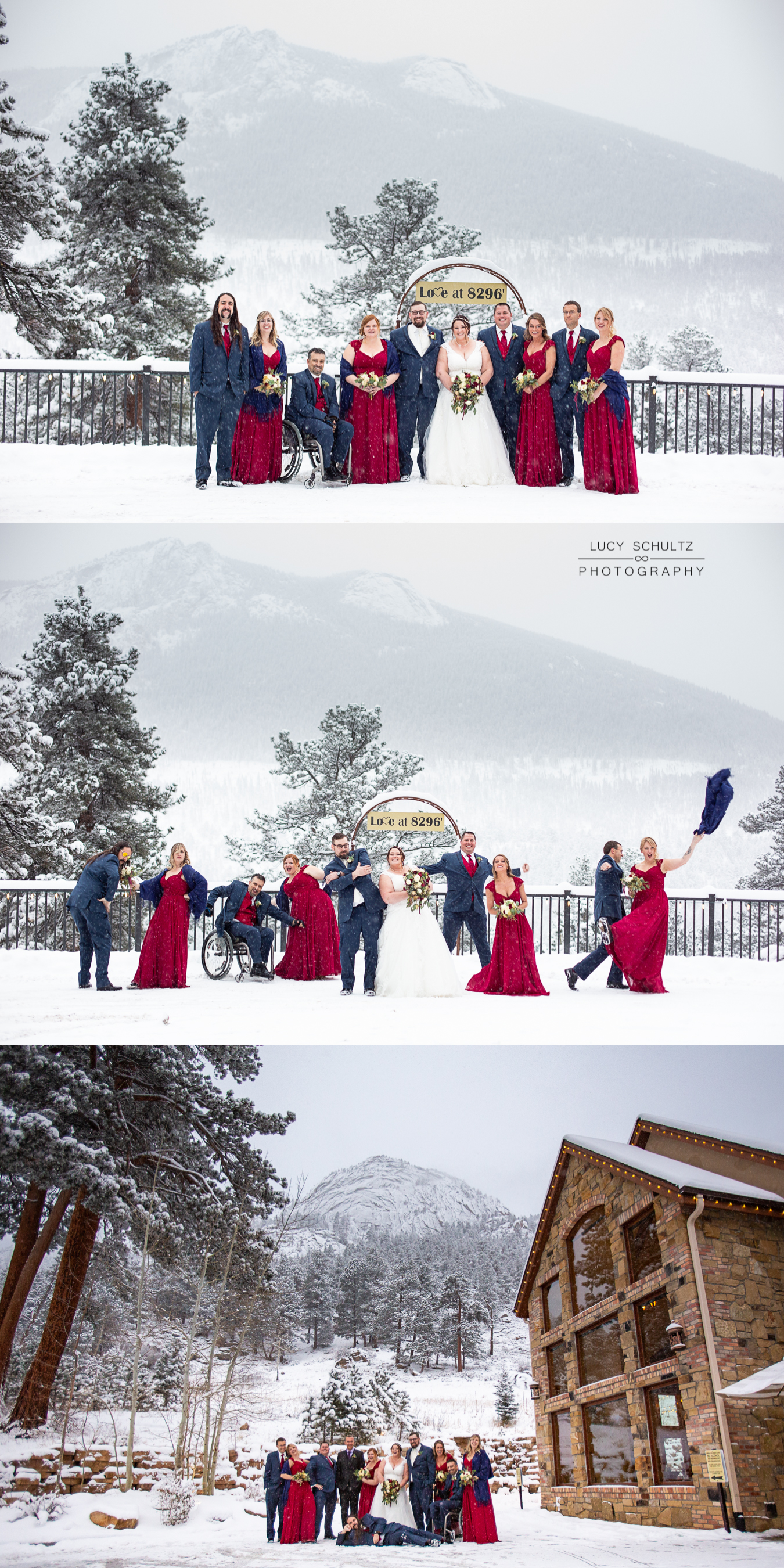 135NavyandRedWinterWeddingColoradoWeddingPhotographer