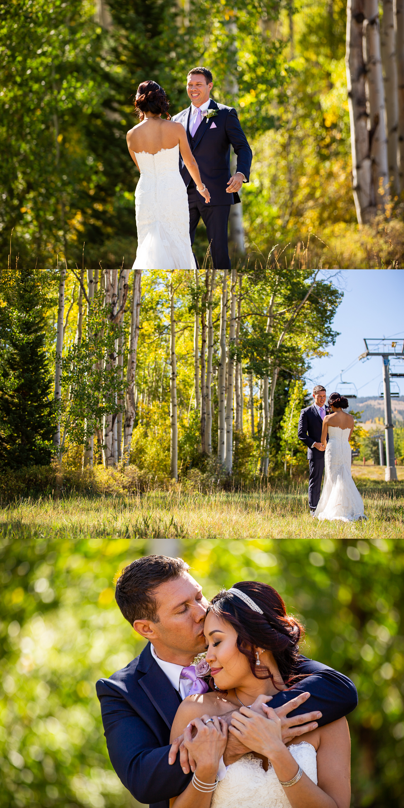 04FirstLookAspenWeddingPhotographerSeptemberWedding
