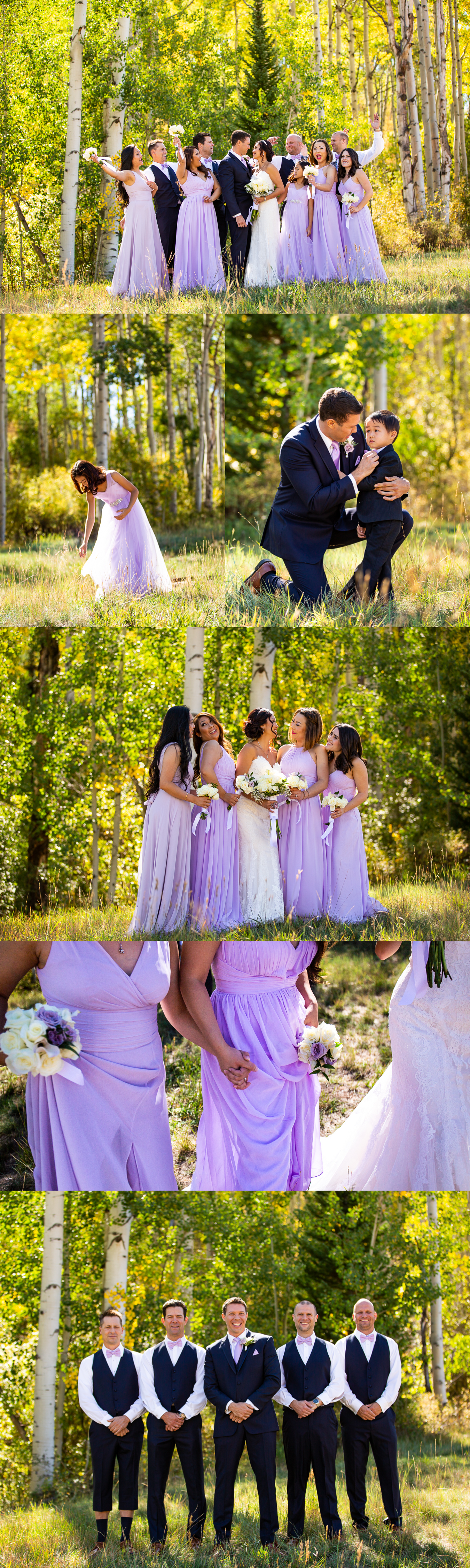 06WeddingPartyPhotosFallAspenColoradoWedding