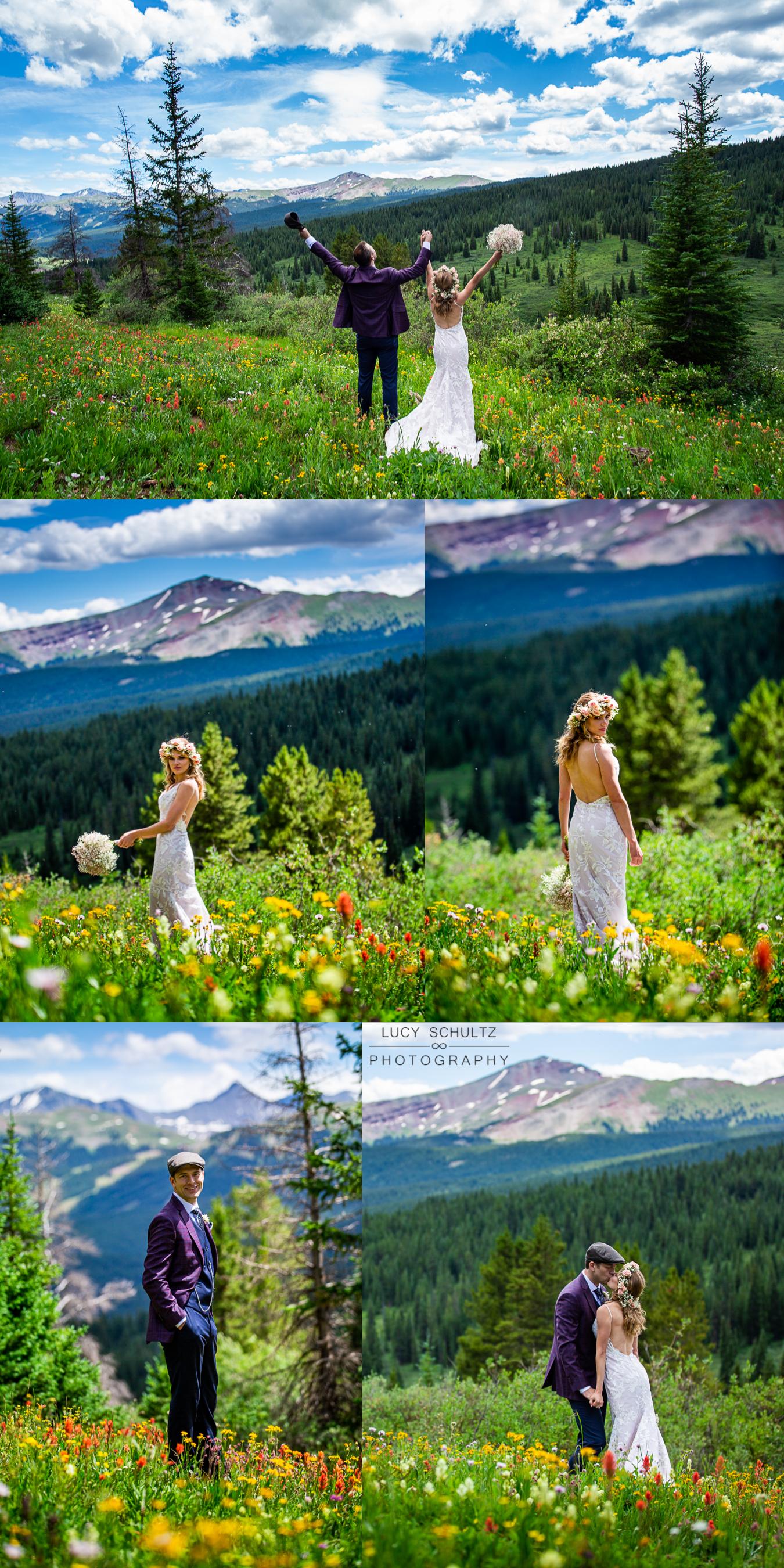 08AmazingColoradoWildflowerWeddingPhotosVail