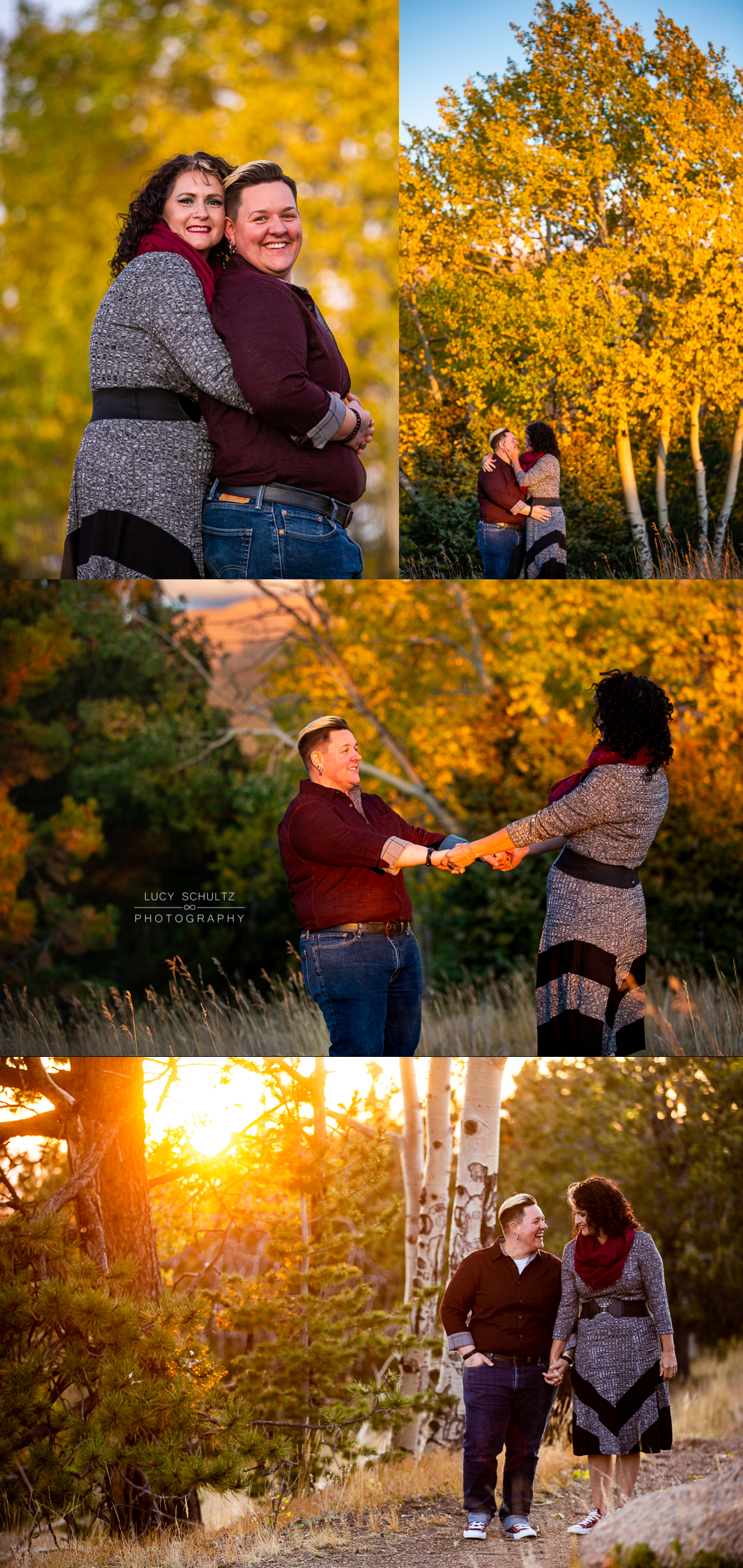 09BeautifulLesbianEngagementPhotosSunset